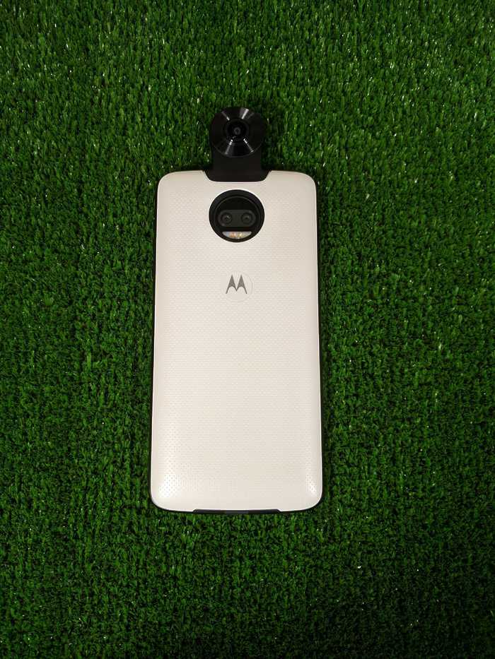 Moto Mods Модуль-камера Camera 360 White Motorola Moto Z
