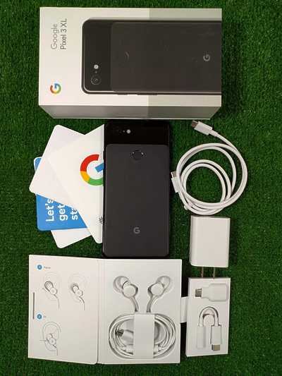 Google Pixel 3 XL 128GB Just Black