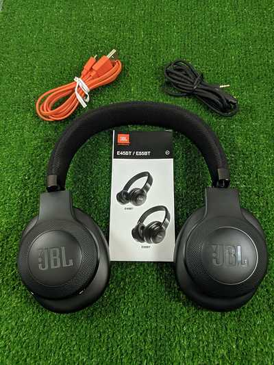 Наушники JBL On-Ear Headphone Bluetooth E55BT Black
